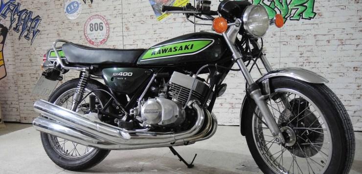 Kawasaki KH 400 (400 S3) – Vernunft-Evolution