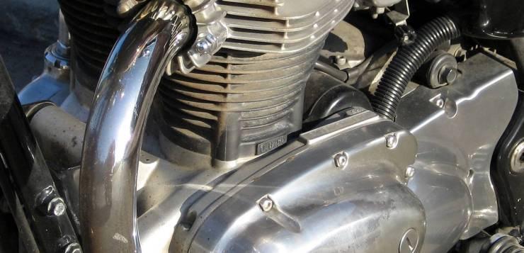 Der W 650 Motor