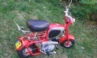 Honda Monkey CZ 100 - liebevoll restauriert