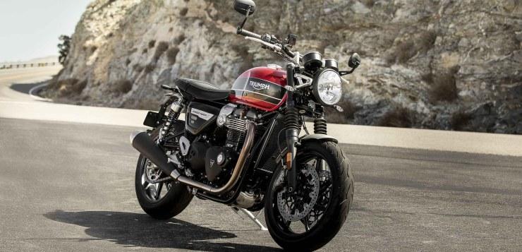 Triumph Speed Twin vervollständigt Modern-Classic-Baureihe