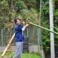 竹垣作りのコツ その2