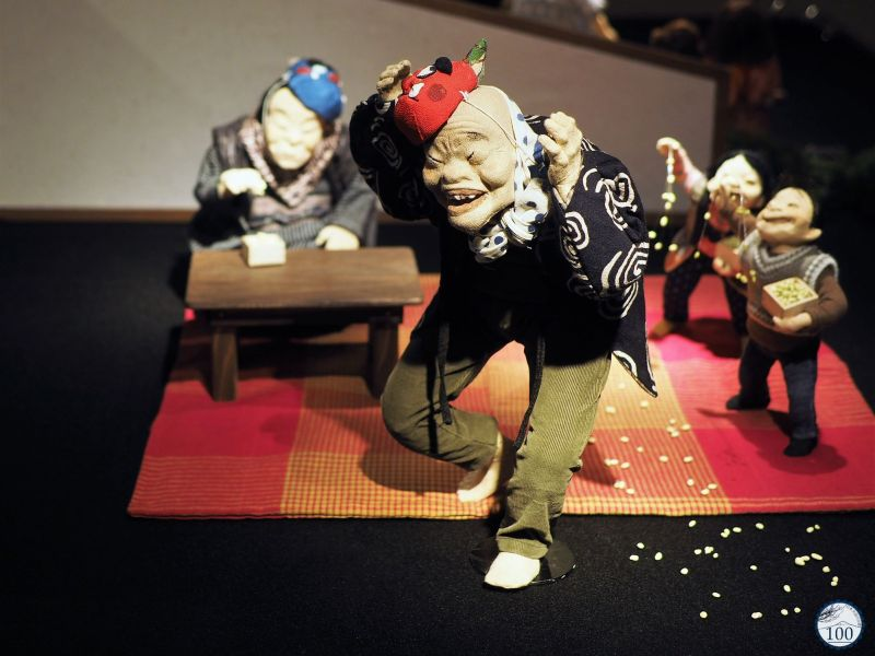 Figurine dansante au musée de Maryumi Takahashi à Iiyama - Nagano