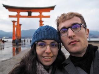 Miyajima et le torii.