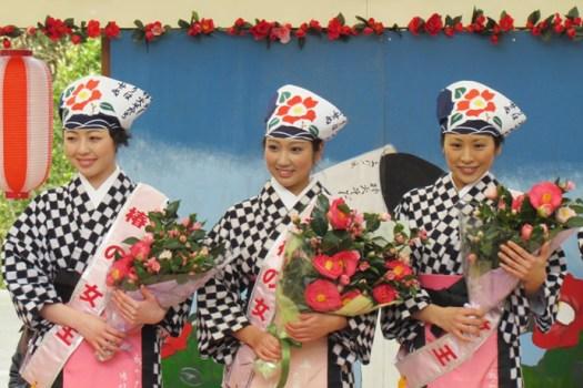 صورة من مهرجان الكاميليا السنوي
