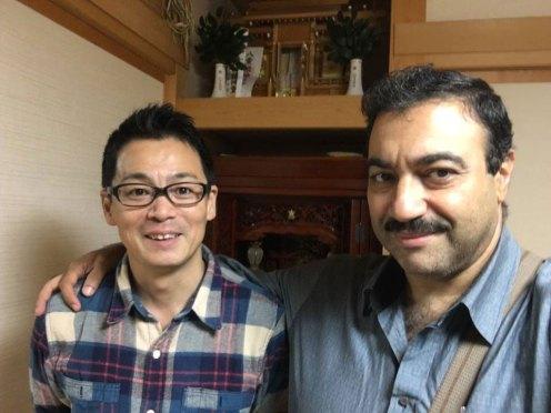 مع صديقي السيد ناكاغاوا