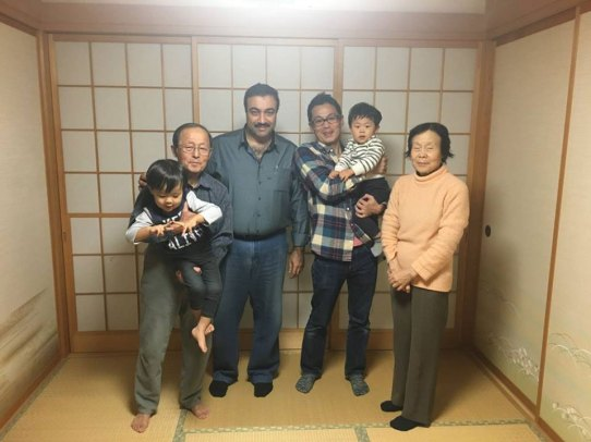 مع عائلة صديقي ناكاغاوا