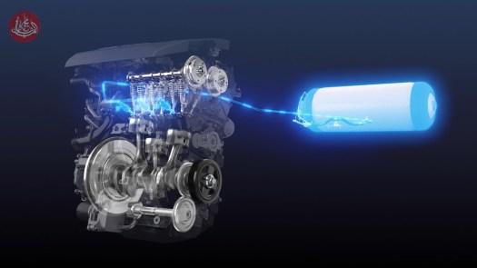 تويوتا تعمل على تطوير محرك سيارات جديد يعمل بطاقة الهيدروجين
