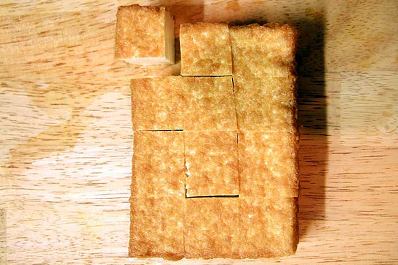 frittierter Tofu ATSU AGE