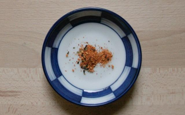 SHICHIMI TOGARASHI oder SHICHIMI - 七味唐辛子 - Sieben Farben Gewürz