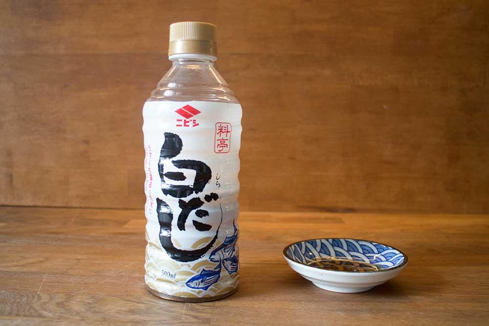 SHIRO DASHI / konzentrierte salzige Dashi-Brühe