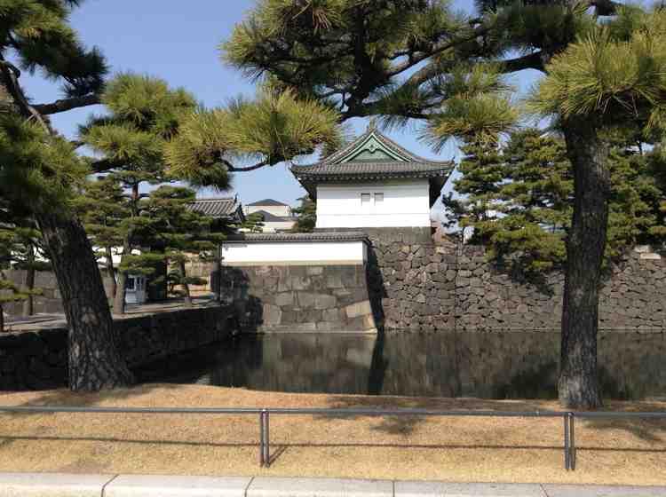 Reiseerleichterungen für den Kaiserpalast in Tokyo