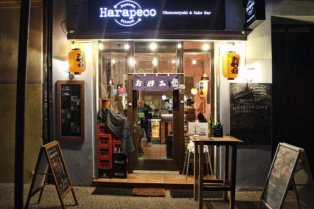 Harapeco Japanese Kitchen - Okonomiyaki Berlin