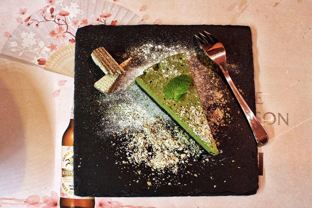 Harapeco Matcha Cheesecake