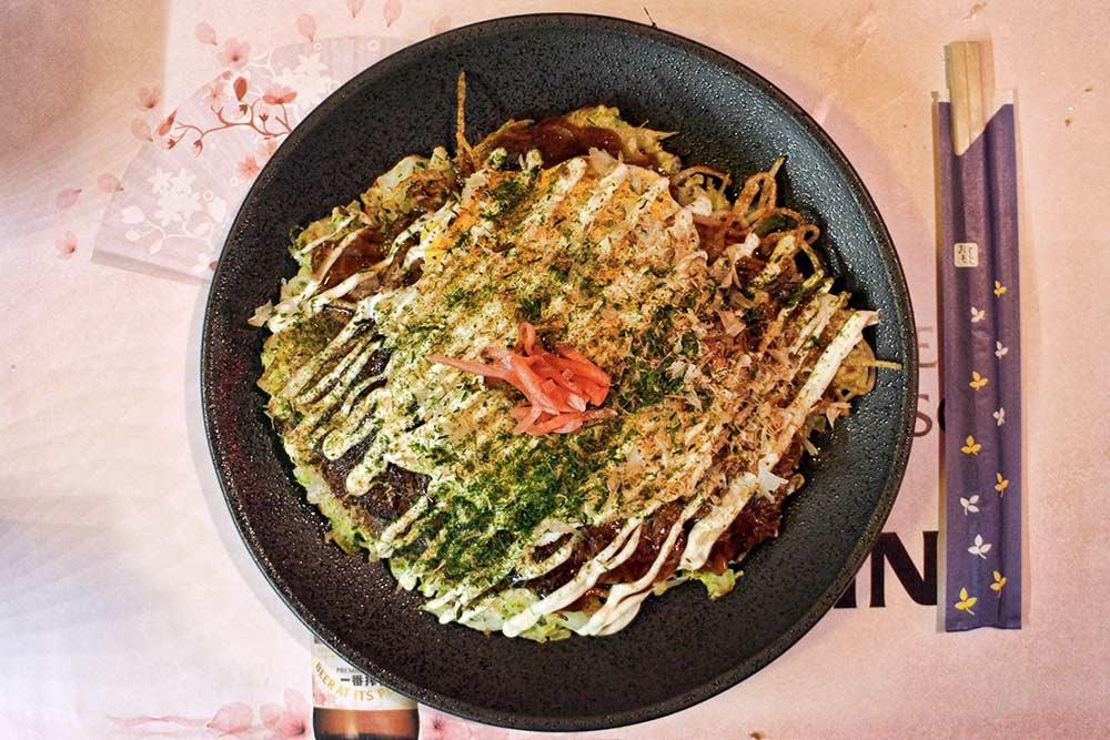 Okonomiyaki Osaka Modern