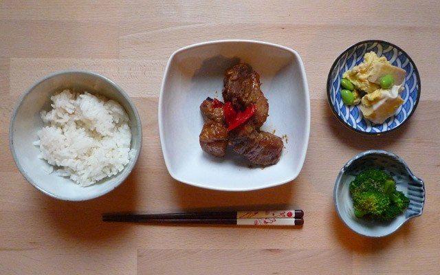 KOYA DOFU NO TAMAGO TOJI - gefriergetrockneter Tofu mit Ei