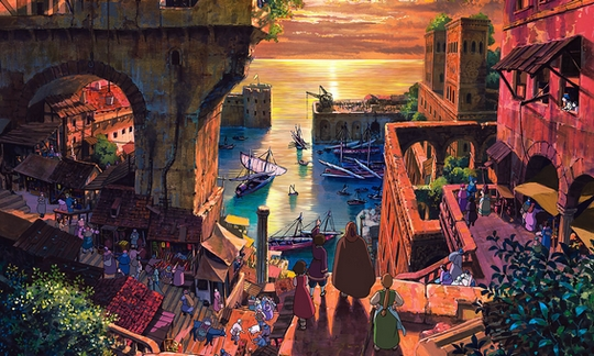 Les Contes de Terremer, Gedo senki, Japanime, Ghibli, Armelle Gallaud, Georges Claisse, Boris Rehlinger, Goro Miyazaki,