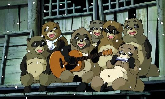Pompoko, Heisei tanuki gassen pompoko, Makoto Nonomura, Yuriko Ishida, Akira Kamiya, Hayao Miyazaki, Ghibli, Actu Japanime, Japanime,