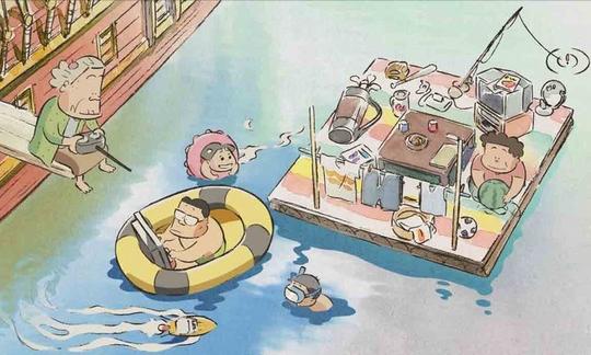 Mes Voisins les Yamada, Ghibli, Japanime, Hohokekyo tonari no Yamada-kun, Tôru Masuoka, Yukiji Asaoka, Naomi Uno, Isao Takahata, Hisaichi Ishii,