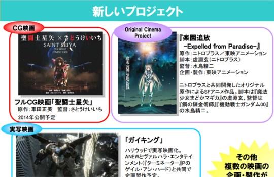 Saint Seiya the Movie, Saint Seiya, Actu Ciné, Cinéma, Actu Japanime, Japanime, Tomohiro Suzuki, Masami Kurumada, Keiichi Satou,
