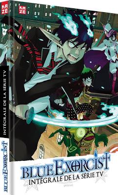 Kazé Anime, Blue Exorcist, Kazue Kato, Actu Japanime, Japanime,
