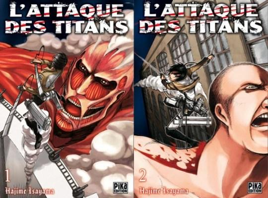 Shingeki no Kyojin, Actu Manga, Manga, Isayama Hajime, L'attaque des Titans, Pika Edition, Gong Kakutougi,