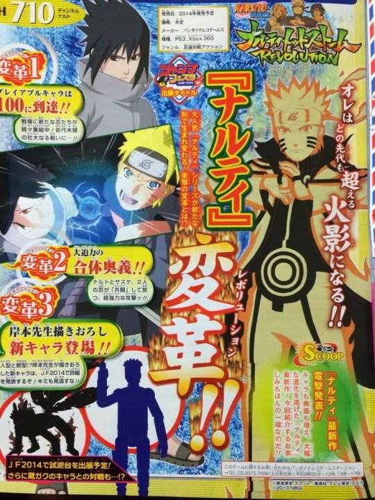 Naruto Shippuden : Ultimate Ninja Storm Revolution, Namco Bandai, CyberConnect2, Actu Jeux Video, Jeux Vidéo, Playstation 3, Xbox 360,