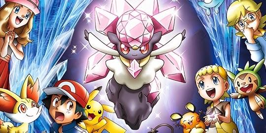 Pokémon XY : Hakai no Mayu to Diancie, Actu Ciné, Cinéma, Satoshi Tajiri, Oriental Light and Magic, Kunihiko Yuyama,