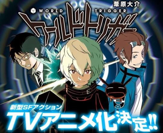World Trigger, Ashihara Daisuke, Actu Japanime, Japanime, Weekly Shonen Jump,