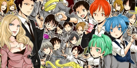 Assassination Classroom, Actu Manga, Manga, Classement, Weekly Shonen Jump, Shueisha,