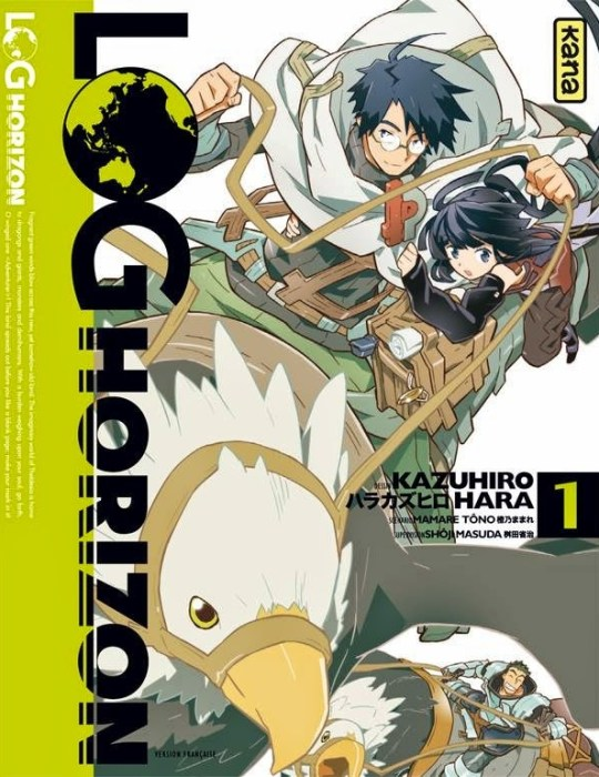 Log Horizon, Manga, Kana, Actu Manga, Kazuhiro Hara, Mamare Touno,