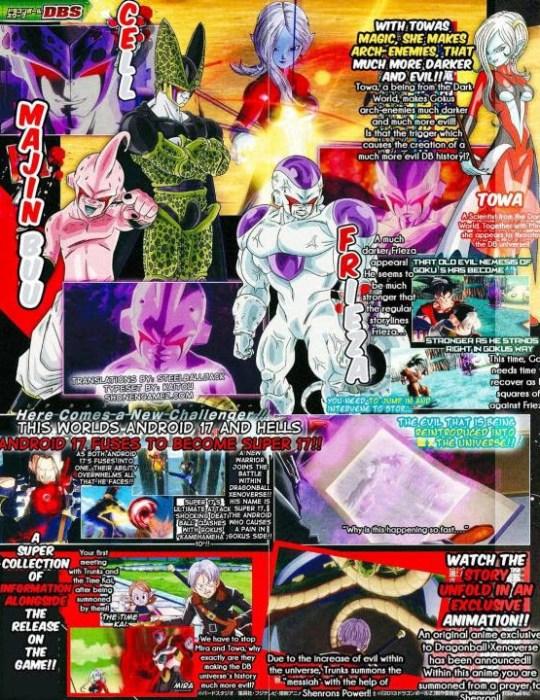 Dragon Ball Xenoverse, Actu Jeux Vidéo, Jeux Vidéo, Bandai Namco,