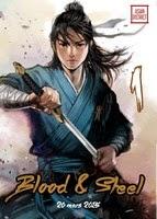 Asian District, Blood and Steel, Critique Manga, Critique Manhua, Kotoji, Kotoji éditions, Manga, Manhua, Studio Unicorn,