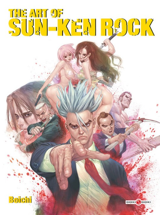 Sun-Ken Rock, Boichi, Manga, Actu Manga, Doki Doki, The Art of Sun-Ken Rock, Japan Expo 2015,