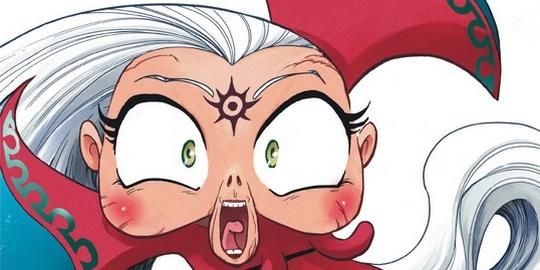 Actu Manga, Critique Manga, Elsa Brants, Gag manga, Global Manga, Kana, Manga, Save Me Pythie, Shonen,