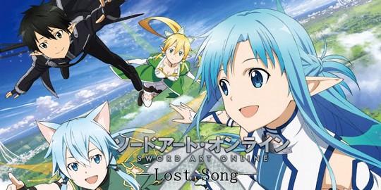 Sword Art Online : Lost Song, Actu Jeux Vidéo, Jeux Vidéo, Bandai Namco Games,
