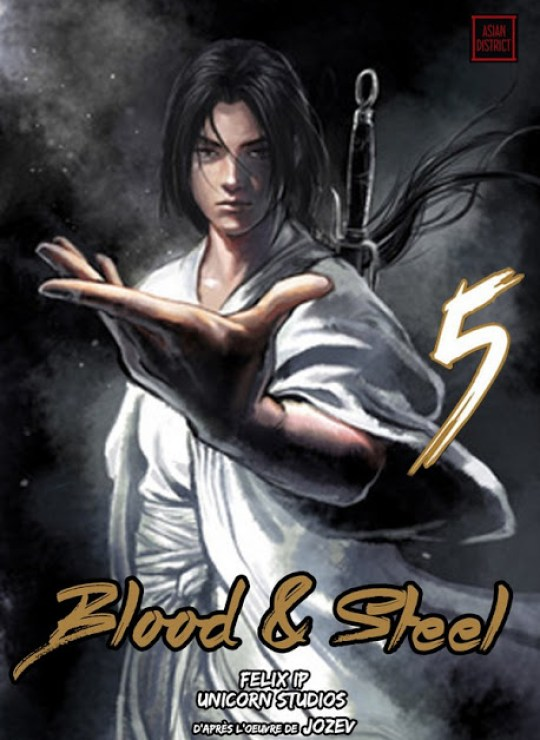Actu Manga, Actu Manhua, Blood and Steel, Kotoji, Kotoji éditions, Manga, Manhua, Oldman,