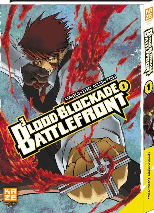 Blood Blockade Battlefront, Manga, Actu Manga, Kazé Manga,