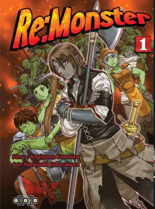 Actu Manga, Manga, Ototo, Seinen, Re:Monster,