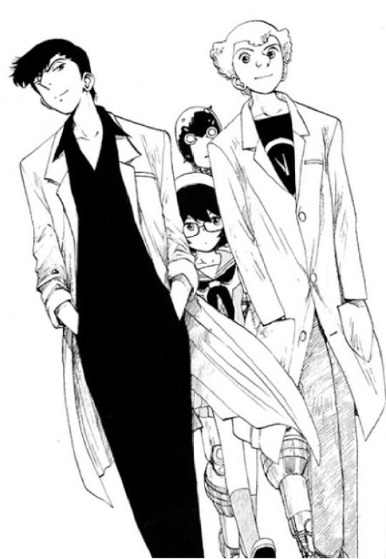 Actu Manga, Astro Boy, Atom - The Beginning, Critique Manga, Kana, Manga, Osamu Tezuka, Shonen, Tezuka Productions,