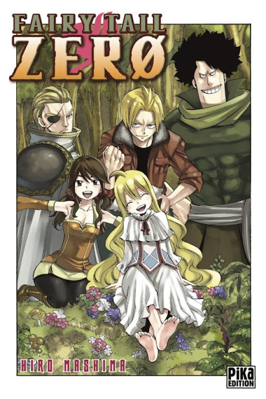 Fairy Tail Zero, Manga, Actu Manga, Hiro Mashima, Pika Edition,