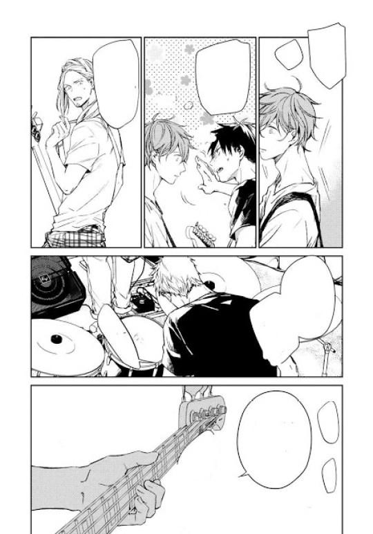 Actu Manga, Critique Manga, Given, Kizu Natsuki, Manga, Taifu, Taifu Comics, Yaoi, Yaoi Blue,