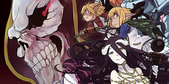 Actu Manga, Manga, Ototo, Overlord, Shonen,