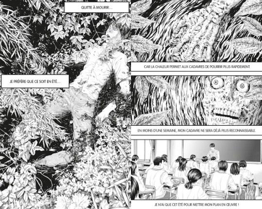 Critique Manga, Delcourt / Tonkam, Je voudrais être tué par une lycéenne, Manga, Usamaru Furuya,