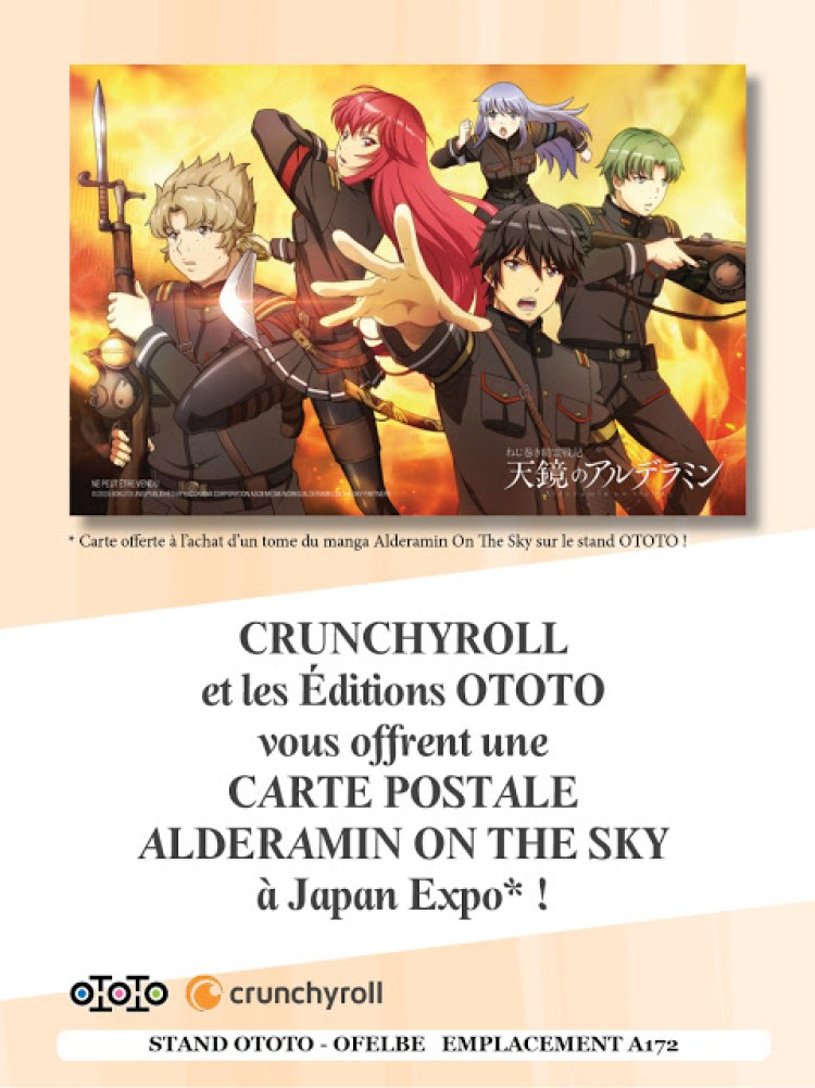Actu Manga, Alderamin on the sky, Bungo Stray Dogs, Manga, Ototo, Overlord, Re:Zero - Re:Life in a Different World From Zero, Seinen, Shonen, Spice and Wolf,