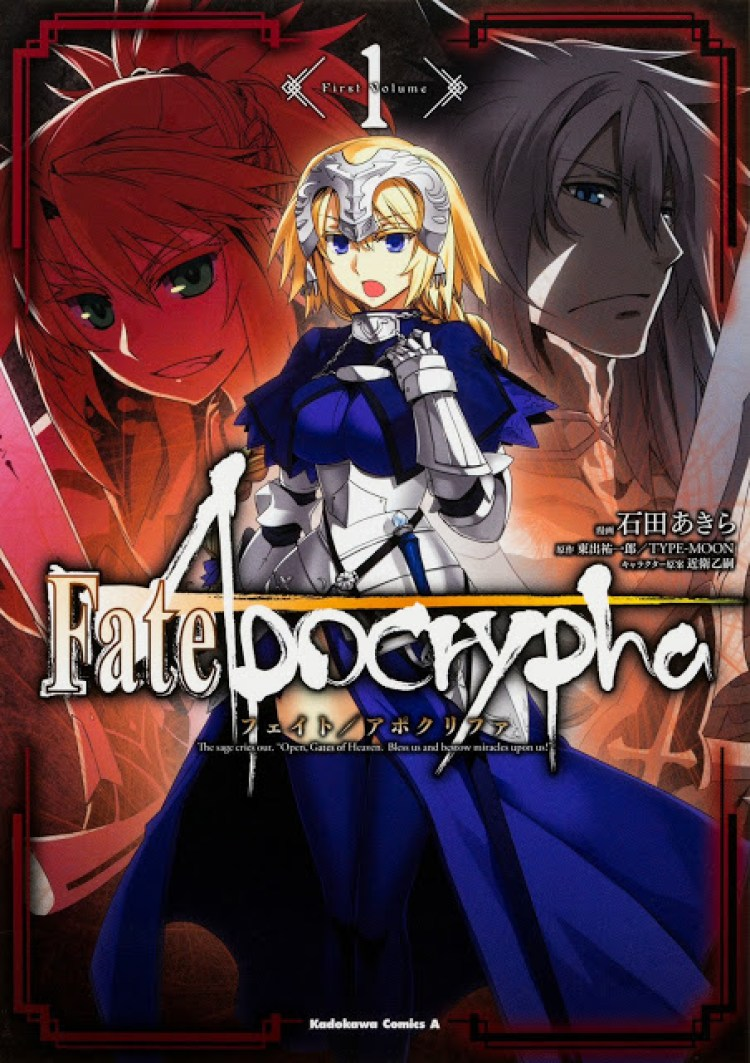 Actu Manga, Fate Zero, Fate/ Grand Order, Fate/Apocrypha, Fate/Stay Night, Manga, Ototo, Seinen, Shonen,