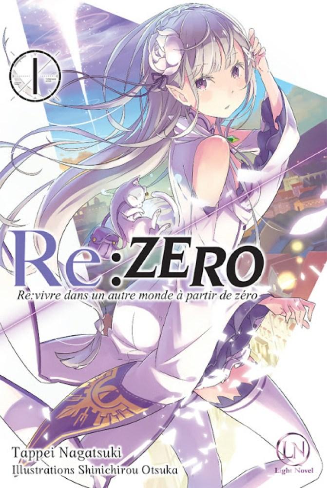 Actu Light Novel, Japan Expo 2017, Light Novel, Manga, Ofelbe, Re:Zero Re:Life, Spice and Wolf,