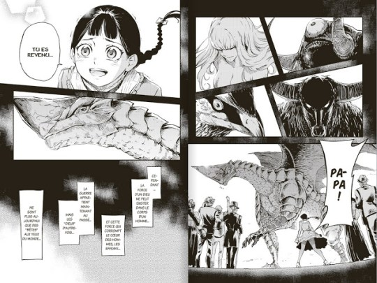 To the Abandoned Sacred Beasts, Manga, Critique Manga, Maybe, Pika Édition,