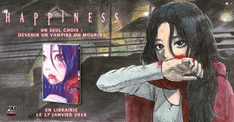 Happiness, Manga, Actu Manga, Shûzô Ôshimi, Bessatsu Shônen Magazine,