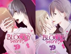 Découvrez notre avis concernant le tome 1 et 2 de Bloody Secret, la nouvelle série de Mutsumi Yoshida disponible chez Soleil Manga