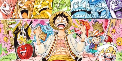 Un huitième One Piece Color Walk a été annoncé